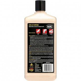 MEGUIAR'S ULTRA CUT COMPOUND M105 - POLISH AUTO ABRAZIV