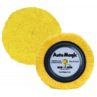 Automagic Medium Cut Compounding Yellow Wool Pad