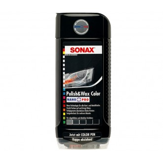 Sonax  ceara neagra la culoare -500 ml